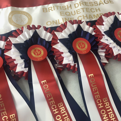 BD Equetech Online Championship Rosettes and Sash