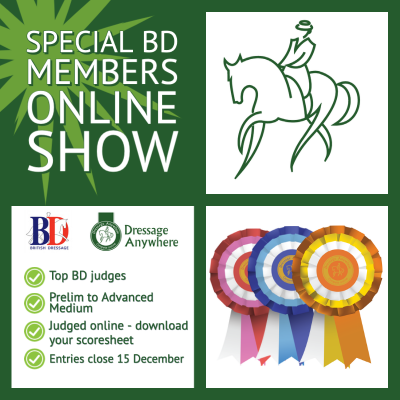 Special BD Members Online Show Graphic