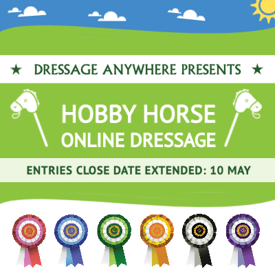 Hobby Horse Online Dressage graphic