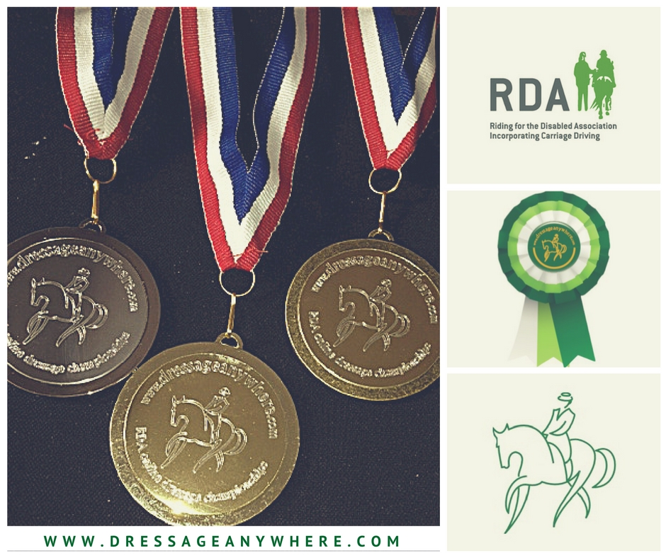 RDA medals, logo and rosette