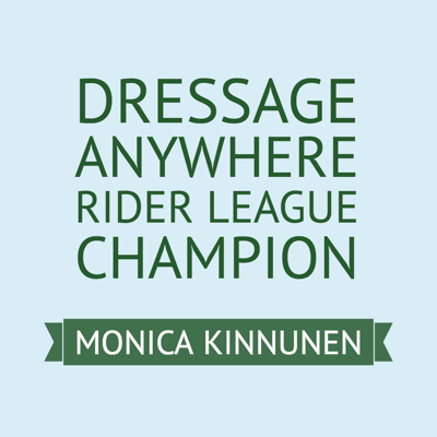Online Dressage Rider League Champion