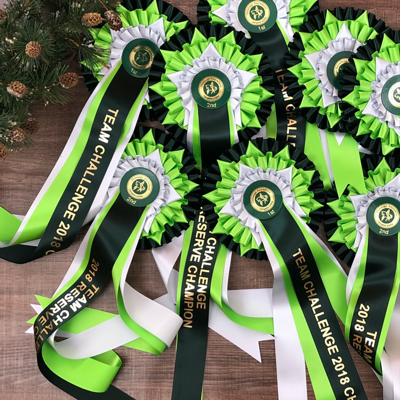 Large green rosettes