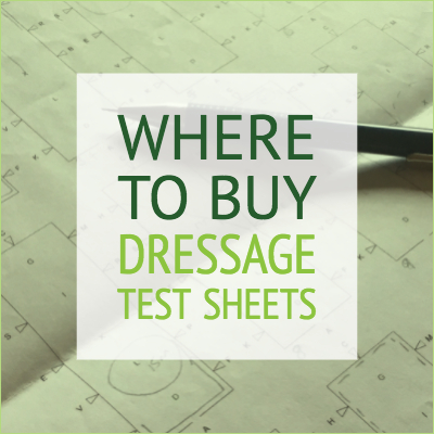 Where to buy test sheets for online dressage